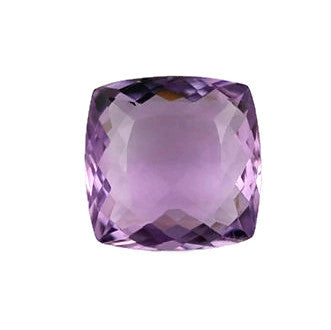 Amethyst cushion antigue cut - 12 mm