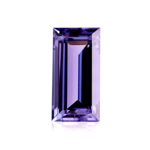 Amethyst baguette cut - 10x5mm
