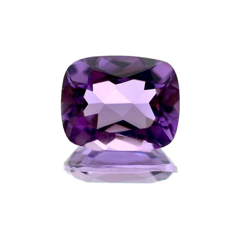 amethyst cushion cut 10x8mm loose gemstone