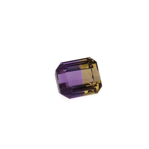 Ametrine emerald octagon shape - 16 x 15 mm