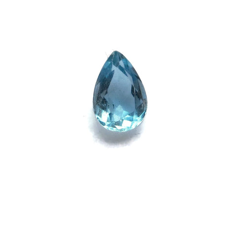 aquamarine pear cut 6x4mm grade gem gemstones from Brazil