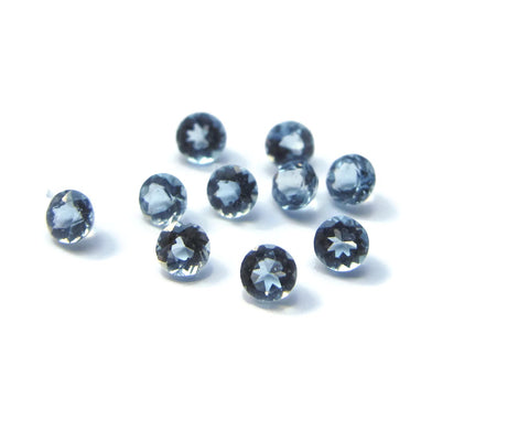 Aquamarine round - 2.0mm