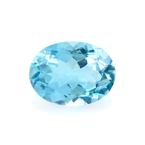 sky blue topaz oval cut 12x10mm loose gemstone