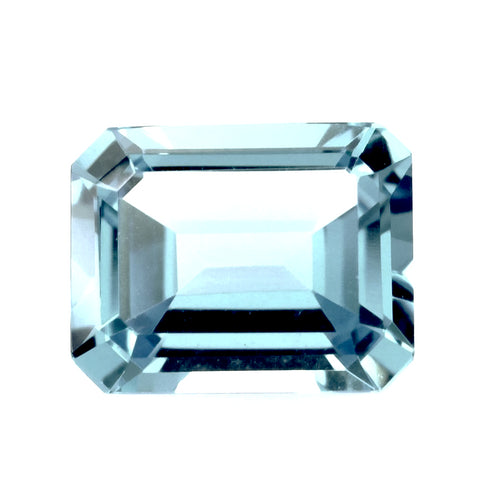 sky blue topaz octagon emerald cut 12x10mm loose gemstone