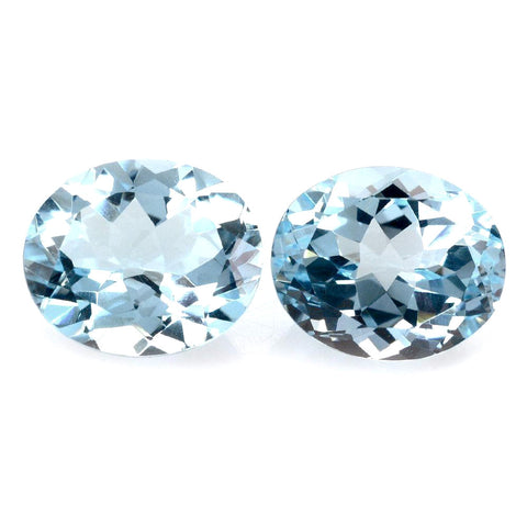 sky blue topaz oval cut 14x12mm loose gemstone