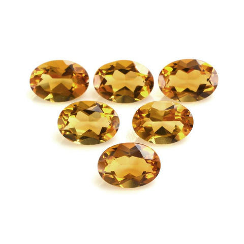 Citrine oval cut - 12x10mm