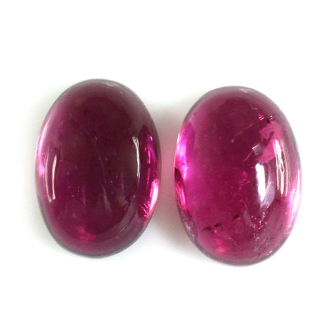 Tourmaline cabochon oval cut - 16x15mm