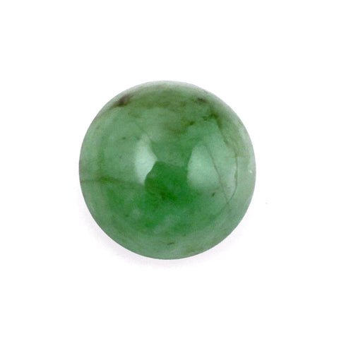 emerald cabochon round 8mm loose gemstone
