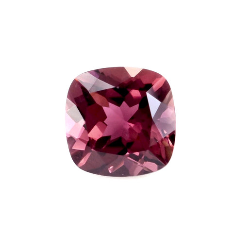 tourmaline cushion cut pink 5mm loose gemstone