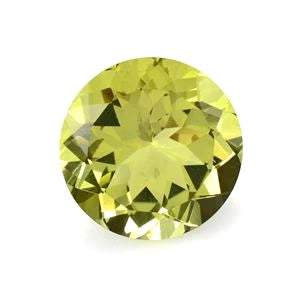 Tourmaline round cut - 6.5mm (Yellow)