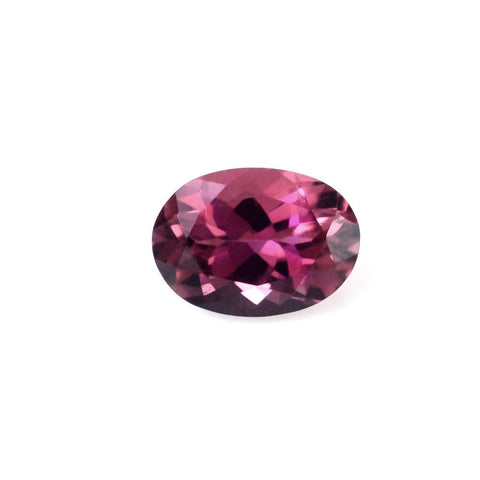 tourmaline pink oval cut 8x6mm loose stone