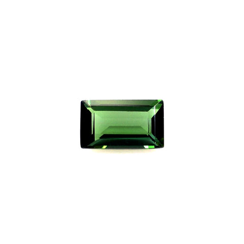 green tourmaline baguette 5x3mm loose stone