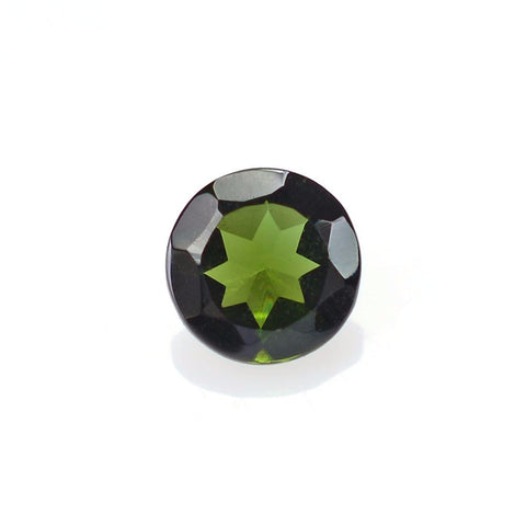 Tourmaline round cut - 4 mm (green)