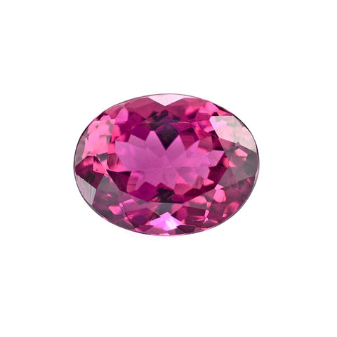 natural pink tourmaline oval cut 5x4mm loose gemstone