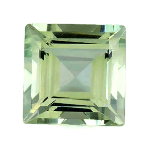 green amethyst quartz prasiolite square 8mm loose gemstone