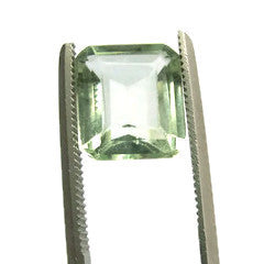 Beryl octagon emerald cut - 9X8mm