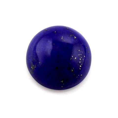Beautiful lapis lazuli round cabochon 10mm gemstone