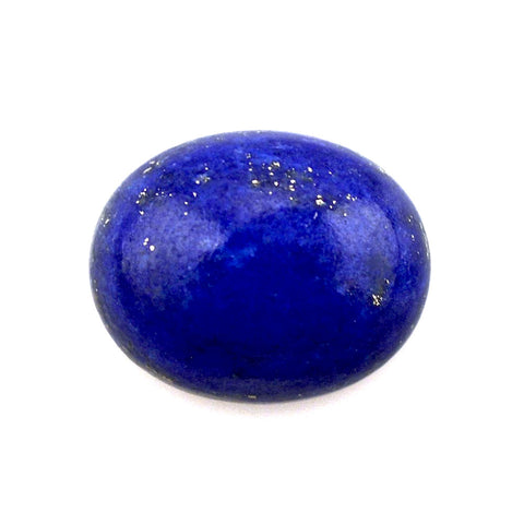 Natural lapis lazuli oval cut cabochon loose gemstone 10x8mm