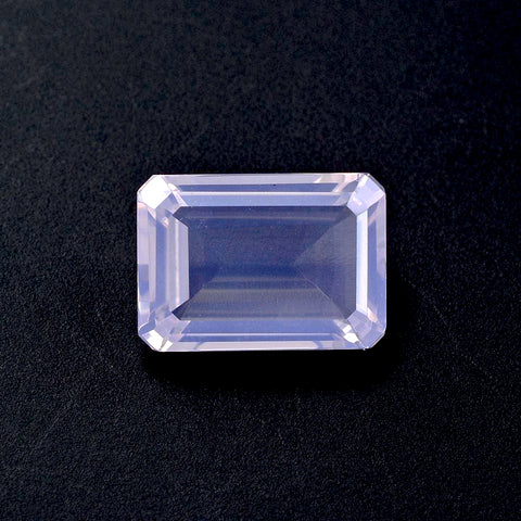 lavender quartz octagon cut 12x10mm natural gemstone