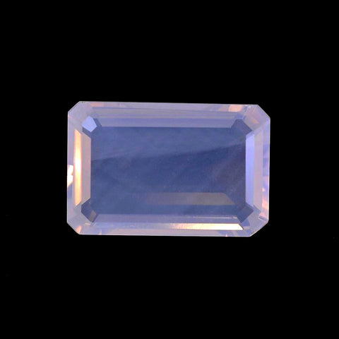 Lavender quartz octagon cut - 16x10mm