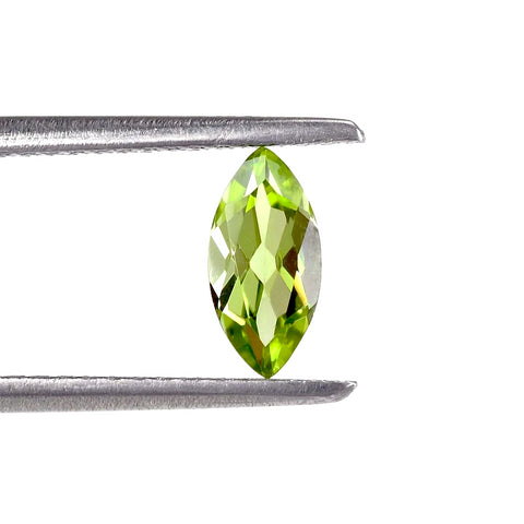 Natural peridot marquise cut 8x4mm loose gemstone