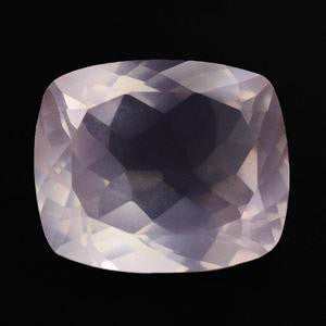 Rose Quartz cushion cut - 12x10mm