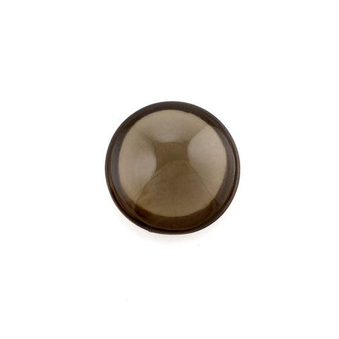 Natural smokey quartz round cut cabochon 4mm gemstone