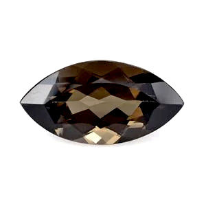Smoky Quartz marquise cut - 16x8mm
