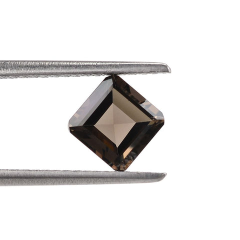 Smoky Quartz square octagon cut - 10mm