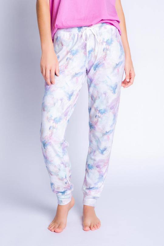 Marble Band Pant  Multi