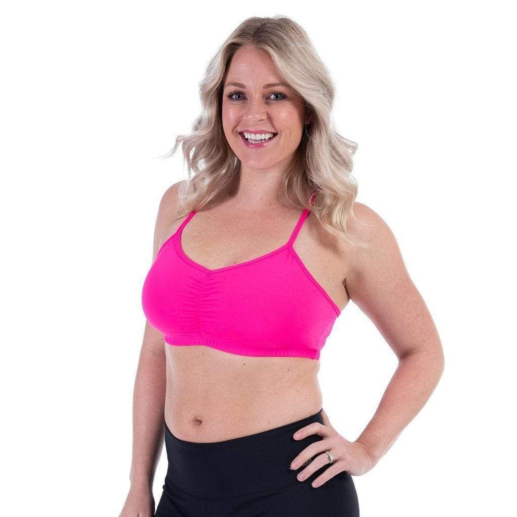Adjustable Bra Battle Cry Pink