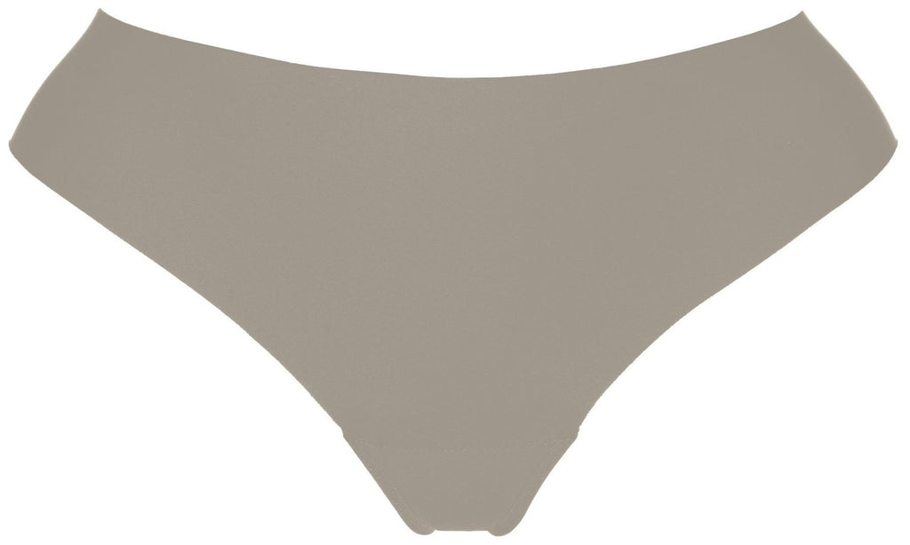 Mid-Rise Thong Greige