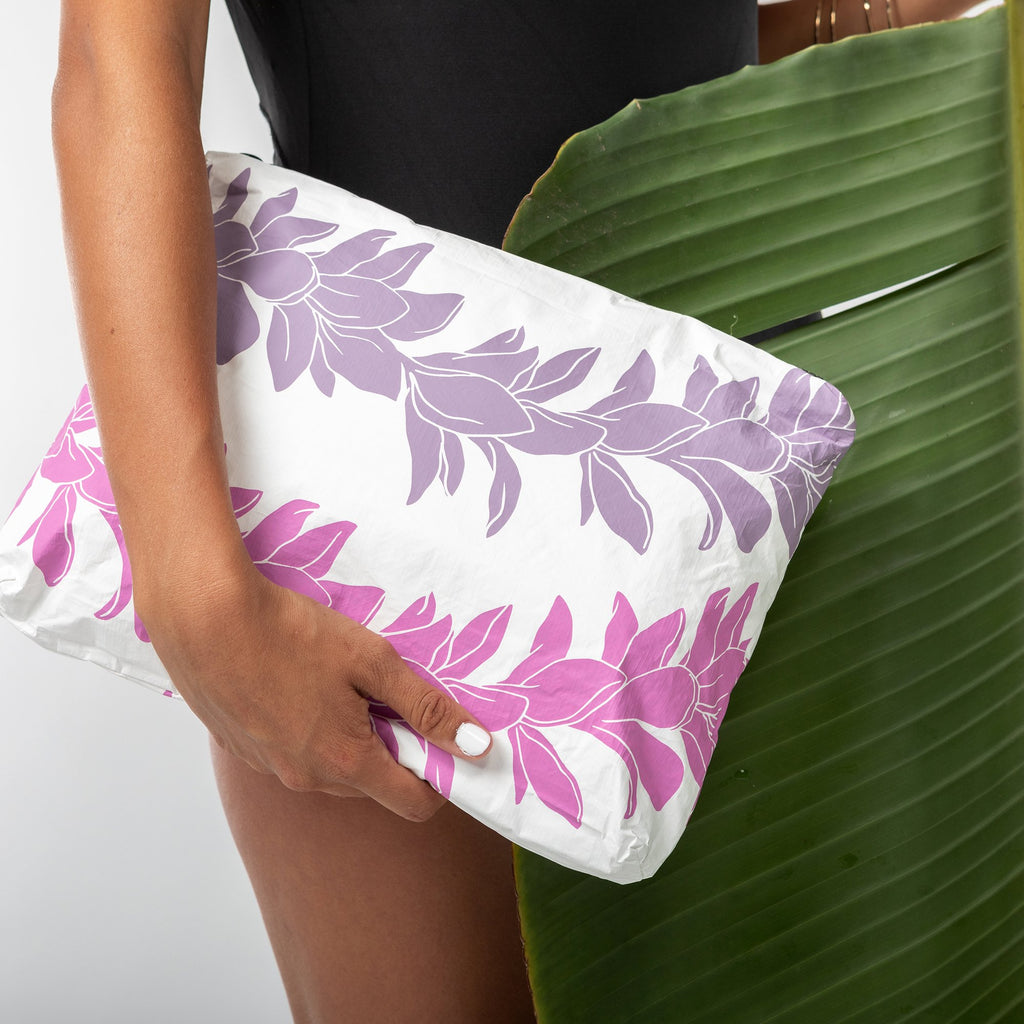 Mid Lei Lei Pouch in Heather
