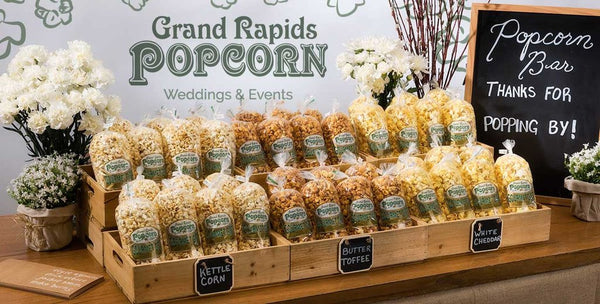 10 Tips For Brides When Creating A Gourmet Popcorn Bar Grand