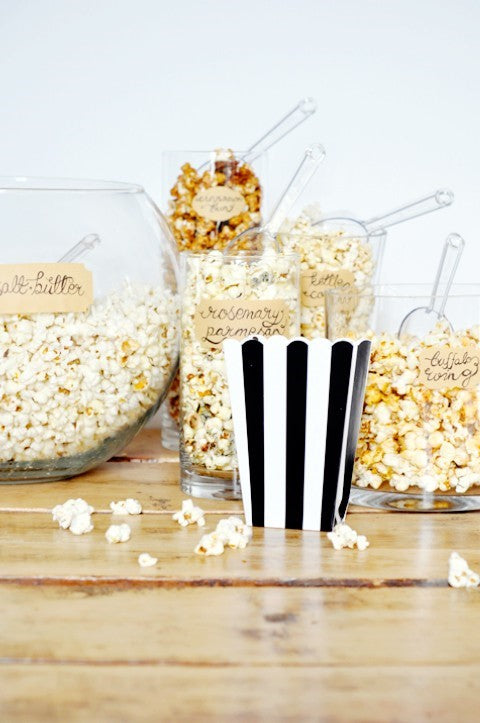 27 Amazing Wedding & Party Popcorn Bars from Pinterest
