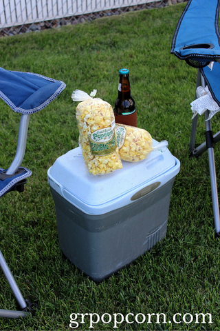 Popcorn Snacks for a Summer Concert