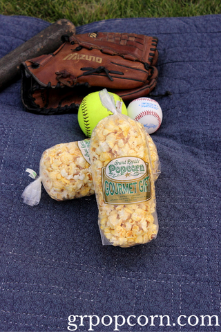 Baseball Popcorn Snacks