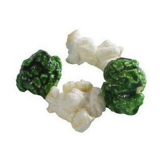 Green and White Popcorn