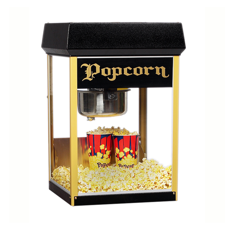 Black & Gold Fun Pop 8oz Popper