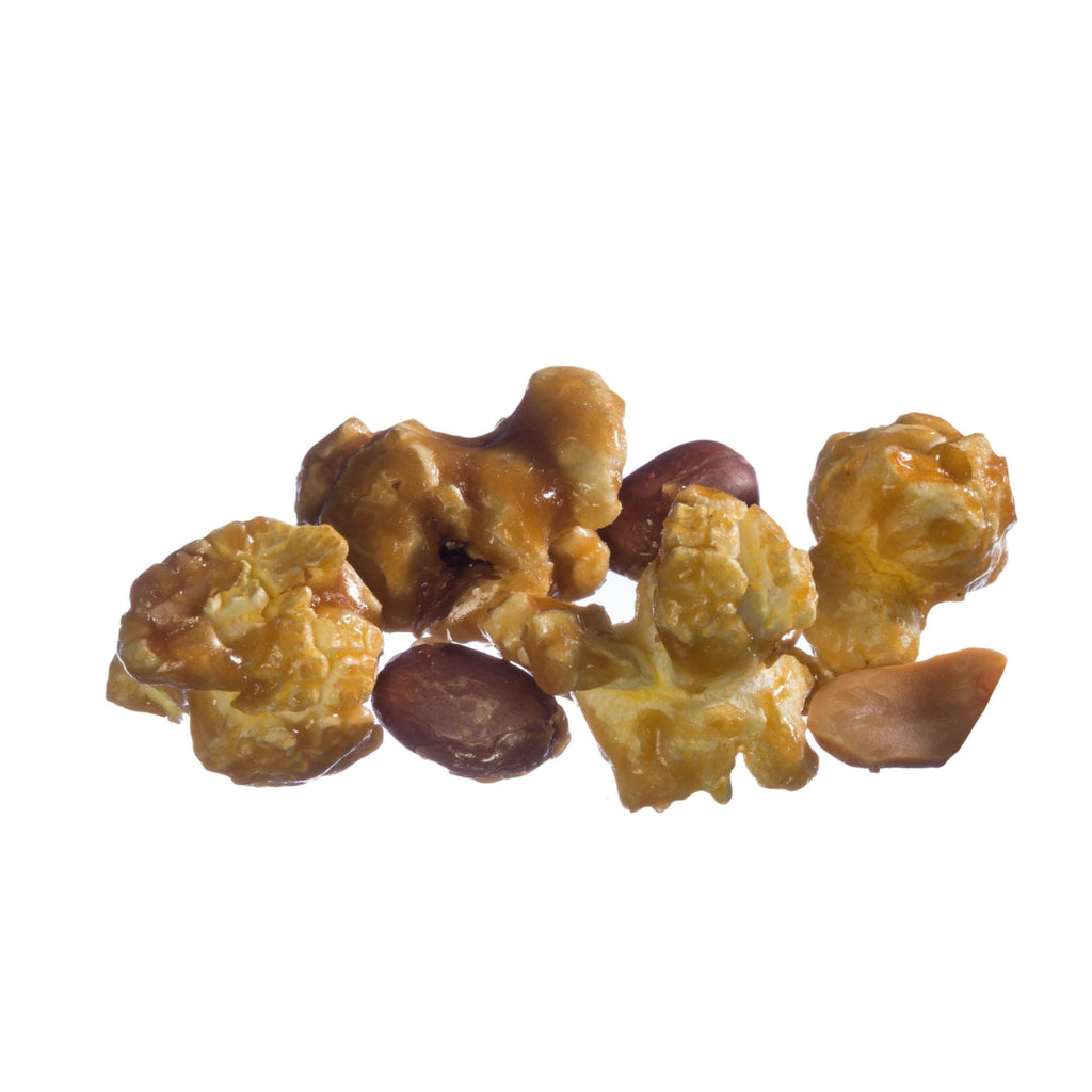 Caramel Corn with Peanuts Popcorn