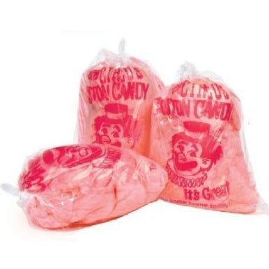 Clown Print Cotton Candy Bags *Cotton Candy Sold Separtely