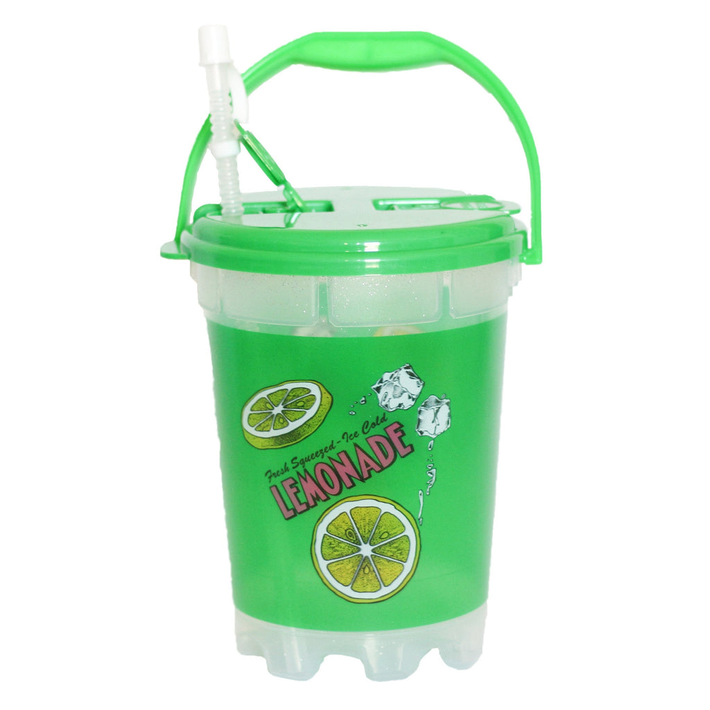 Ice Cold Plastic Lemonade Bucket