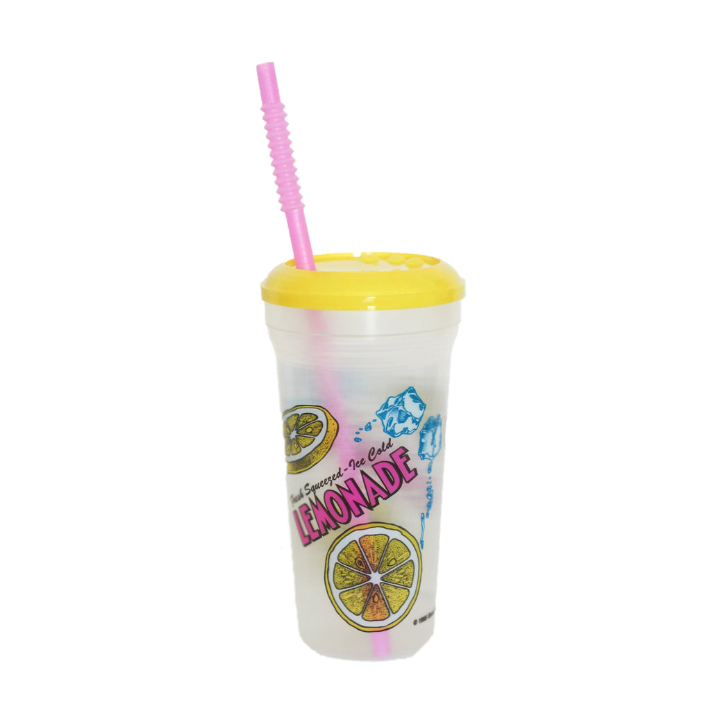 Ice Cold Plastic Lemonade Natural Cup