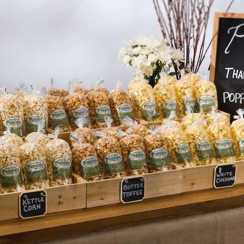 Take Away Popcorn Favors - 20 count per case (Orders Placed For Pickup Will Be Ready In 72 Business Hours)