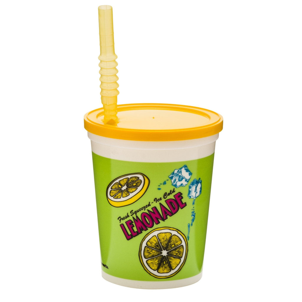 Ice Cold Plastic Lemonade Cup