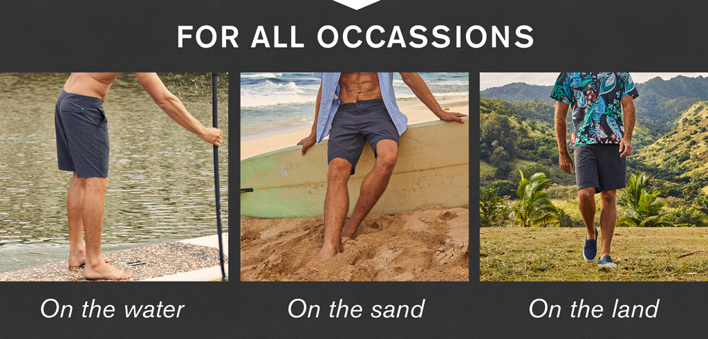 Aloha Shorts for all occasions