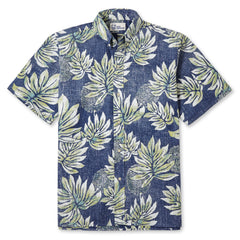 Reyn Spooner Moamahi Hawaiian shirt in NAVY