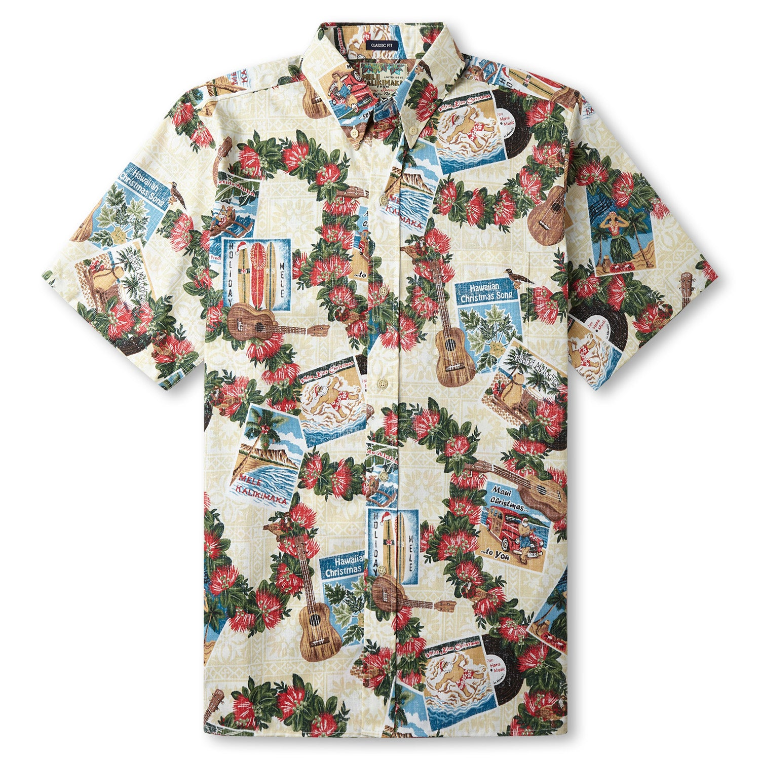 HAWAIIAN CHRISTMAS 2017 / CLASSIC FIT - Zoomed