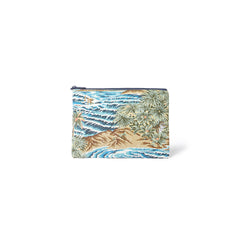 Reyn Spooner Sumatra Slide Cosmetic Bag in AZURE