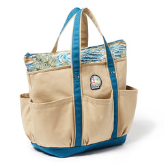 Sumatra Slide Beach Bag AZURE